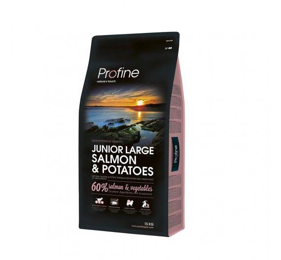 Profine Dog Junior Large Breed Salmon & Potatoes 15kg