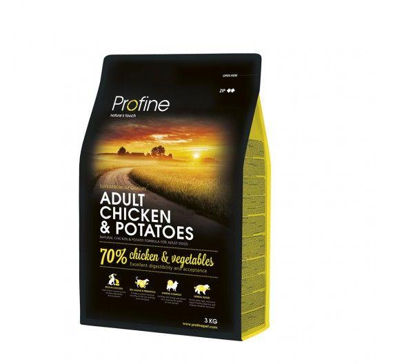 Profine Dog Adult Chicken & Potatoes 3kg