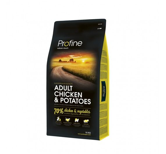 Profine Dog Adult Chicken & Potatoes 15kg