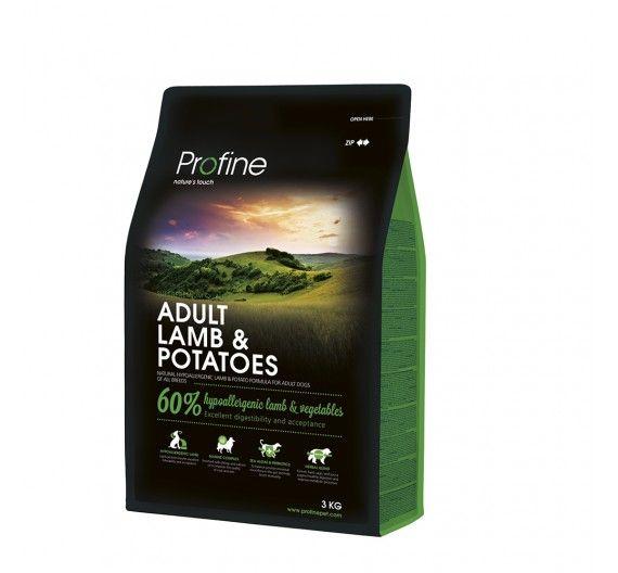 Profine Dog Adult Lamb & Potatoes 3kg