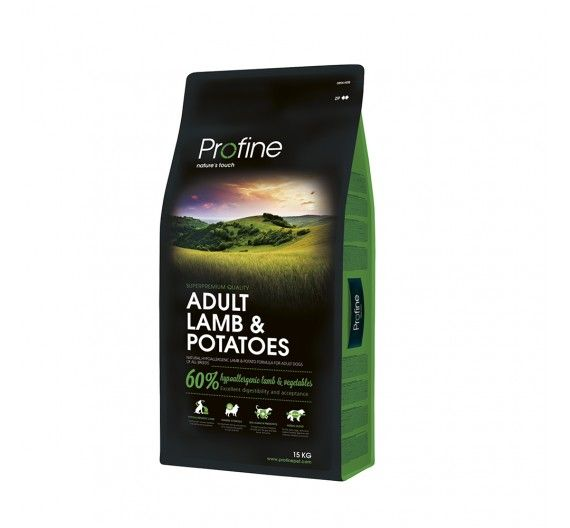 Profine Dog Adult Lamb & Potatoes 15kg