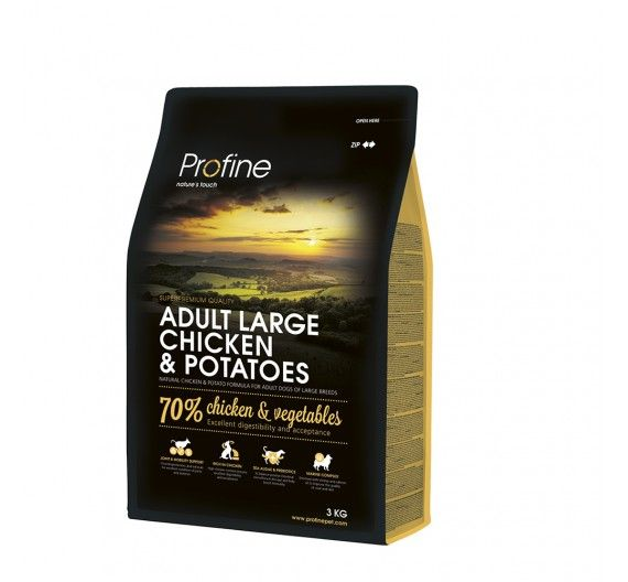 Profine Dog Adult Large Breed Chicken & Potatoes 3kg