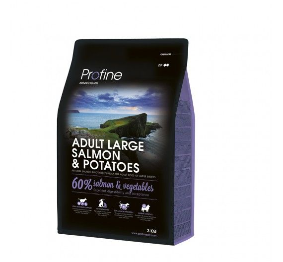 Profine Dog Adult Large Breed Salmon & Potatoes 3kg