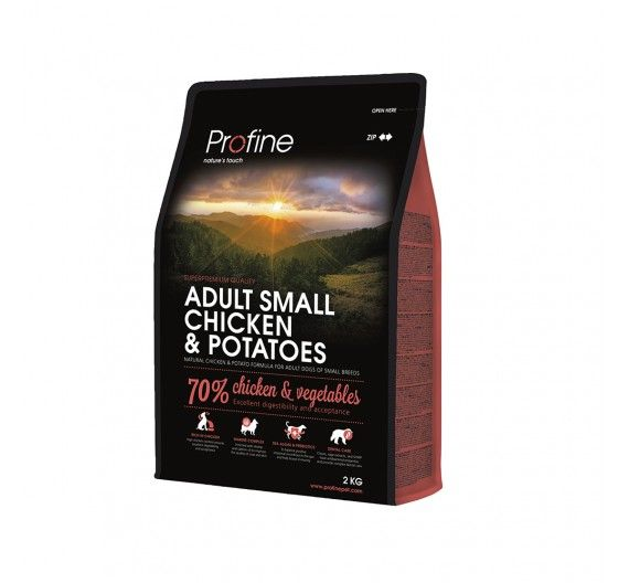 Profine Dog Adult Small Breed Chicken & Potatoes 2kg