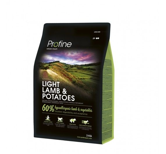 Profine Dog Light Lamb & Potatoes 3kg