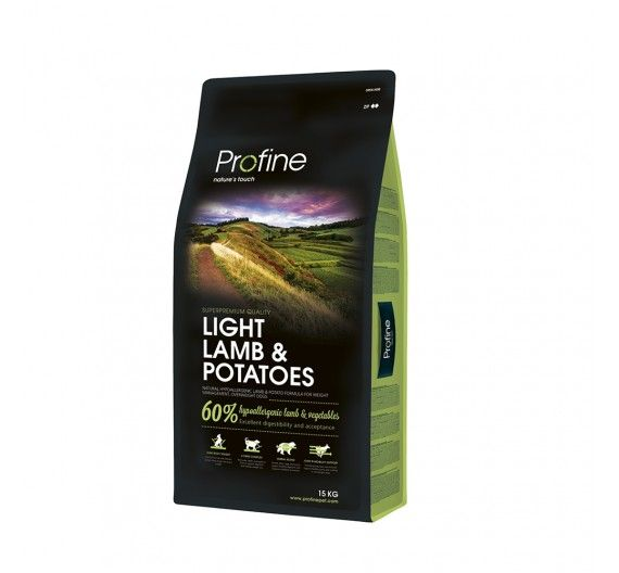 Profine Dog Light Lamb & Potatoes 15kg