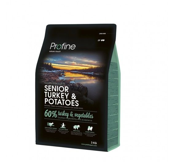 Profine Dog Senior Turkey & Potatoes 3kg