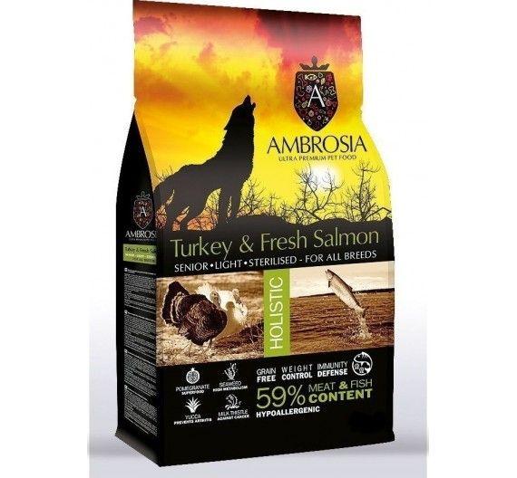 Ambrosia Holistic Adult Fresh Mackerel & Buffalo 12kg