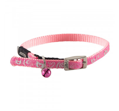 ROGZ Περιλαίμιο Γάτας Sparklecat Ροζ