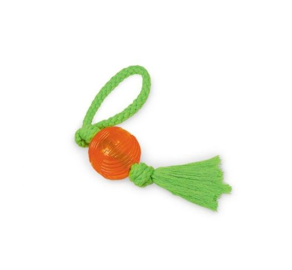 Nobby Tpr Rubber Ball with Rope