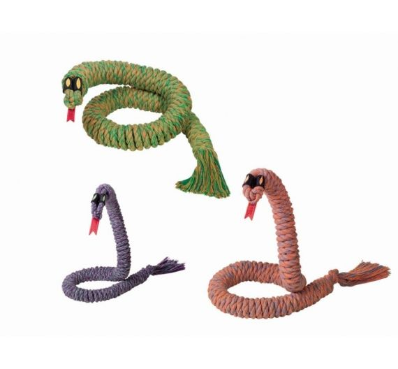 Nobby Cotton Rope Snake