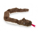 Nobby Λούτρινο Φίδια Brown
