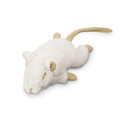 Nobby Λούτρινο Ποντίκι λευκό - μπεζ