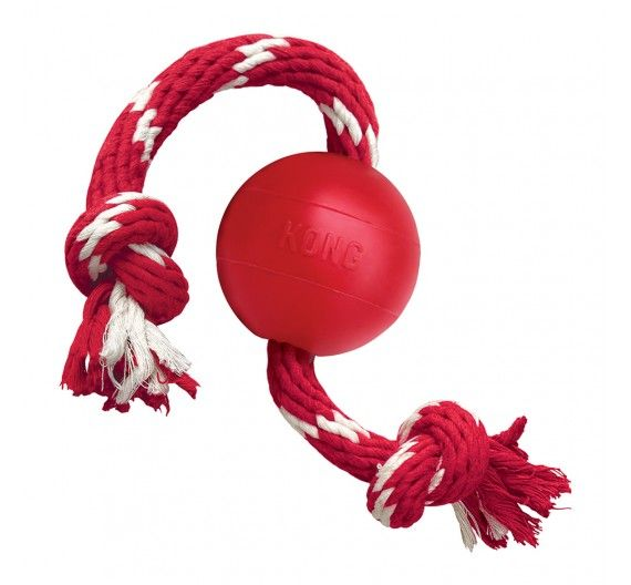 KONG Ball με σχοινί S