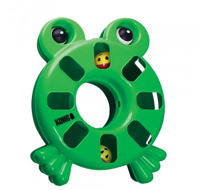 KONG Cat Puzzle Toy Frog S