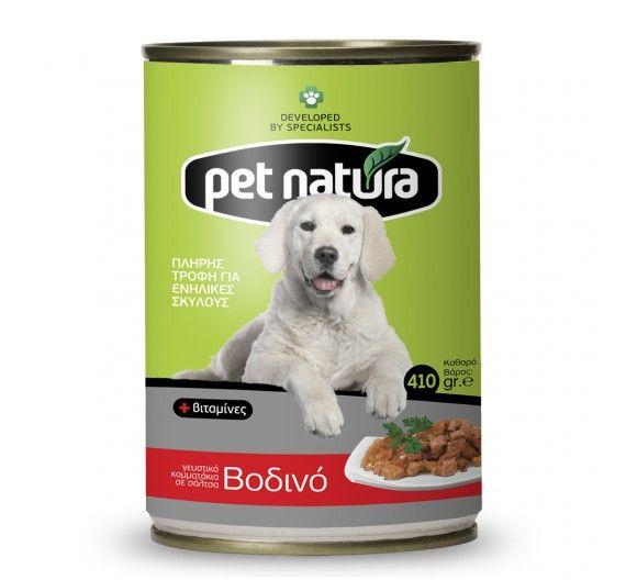 PET NATURA Κονσέρβα σκύλου Βοδινό