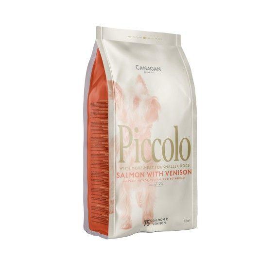 Piccolo Salmon & Venison for Dogs 750gr