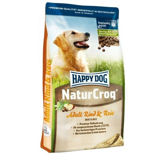 Happy Dog NaturCroq Original Beef 15kg