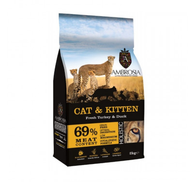imp AMBROSIA GRAIN FREE CAT & KITTEN 2Kg