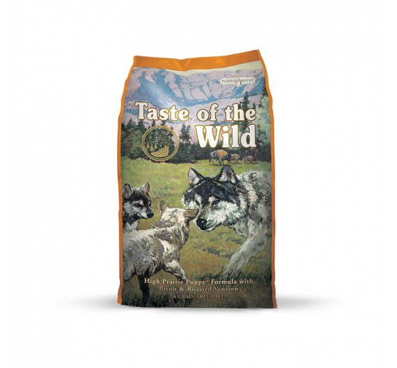 Taste of the Wild PUPPY ΒΙΣΟΝΑΣ HIGH PRAIRIE 13KG